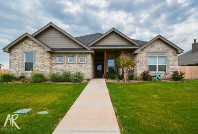 Abilene Single Family Home For Sale: 6709 Tradition Drive