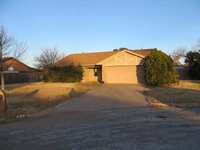 Abilene Single Family Home For Sale: 5225 Pebblebrook Court