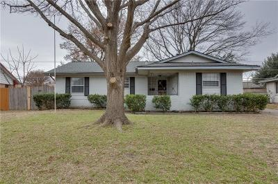 Richardson Single Family Home Active Option Contract: 521 Vernet Street