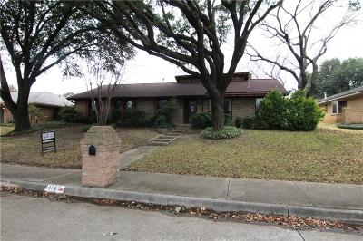 Lewisville Single Family Home For Sale: 1414 San Antone Lane