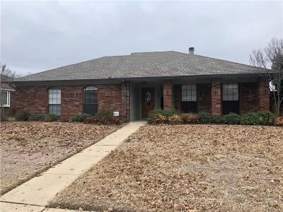 Allen Single Family Home Active Option Contract: 611 Ironwood Drive