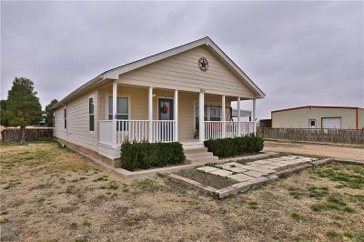 Abilene Single Family Home For Sale: 850 Mesquite Lane