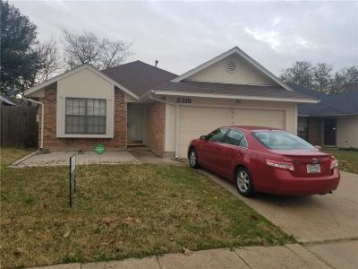 Garland Single Family Home For Sale: 2318 Shalimar Drive