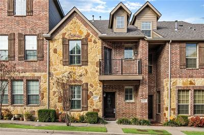 Denton County Townhouse For Sale: 4257 Riverview Drive