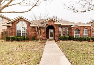 Allen Single Family Home For Sale: 1022 Winslow Drive