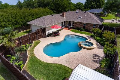 Coppell Single Family Home Active Option Contract: 758 Swallow Drive