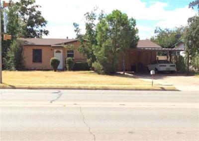 Abilene Single Family Home For Sale: 5233 S 7th Street