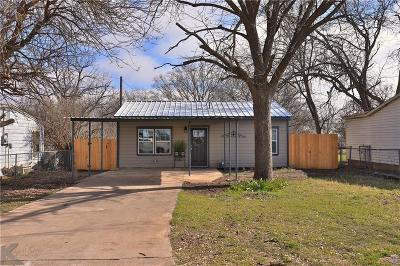 Abilene Single Family Home For Sale: 3325 Waverly Avenue