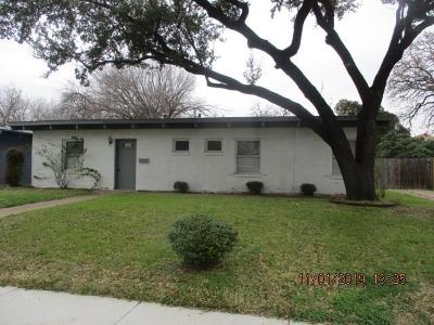 Irving Single Family Home For Sale: 1837 Standish Drive