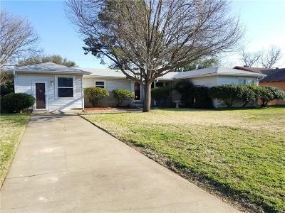 Young County Single Family Home Active Kick Out: 1351 Hillcrest Drive