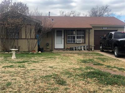 Abilene Single Family Home For Sale: 602 N Bowie Drive