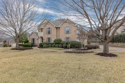 Tarrant County Single Family Home Active Option Contract: 806 Timber Lake Circle