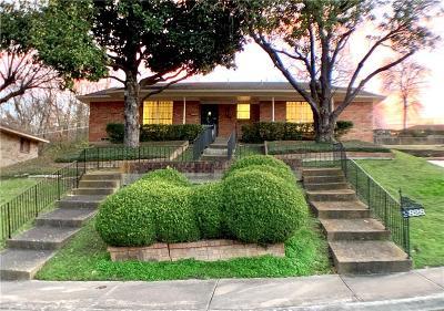 Dallas Single Family Home For Sale: 2828 Magna Vista Drive