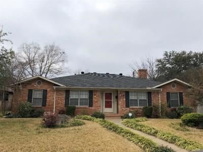Dallas Single Family Home For Sale: 5127 Blanchard Drive