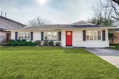 Dallas, Addison Single Family Home For Sale: 9125 Larchwood Drive