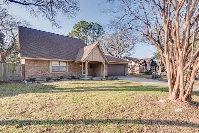 Arlington Single Family Home Active Option Contract: 3906 San Luis Court
