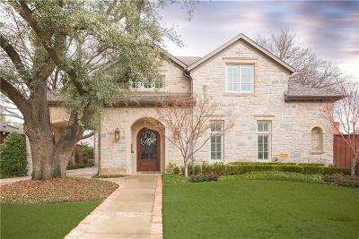 Dallas County Single Family Home Active Option Contract: 6823 Woodland Drive