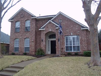The Colony Single Family Home Active Option Contract: 3805 Saint Andrews Drive