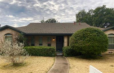 Dallas Single Family Home Active Option Contract: 12115 Lochwood Boulevard