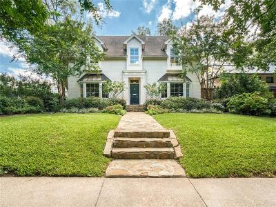 Dallas County Single Family Home For Sale: 4806 Abbott Avenue