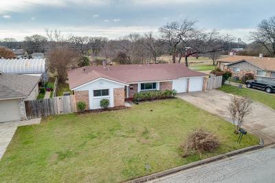 Hurst, Euless, Bedford Single Family Home For Sale: 1413 Brookside Drive