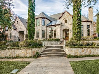 Dallas County Single Family Home For Sale: 6855 Lakewood Boulevard