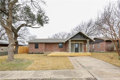 Garland Single Family Home Active Option Contract: 510 E Daugherty Drive