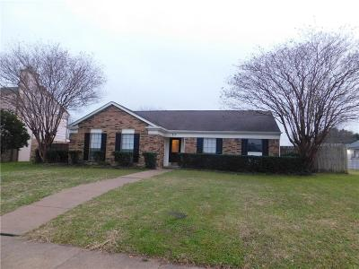 Garland Single Family Home Active Option Contract: 710 Carriagehouse Lane
