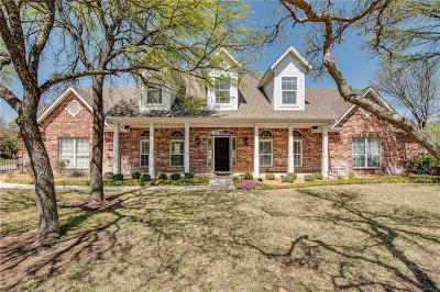 Aledo Single Family Home Active Kick Out: 1514 Greenleaf Court