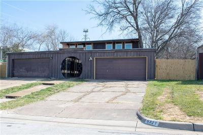 Tarrant County Multi Family Home Active Option Contract: 6319 Walraven Circle