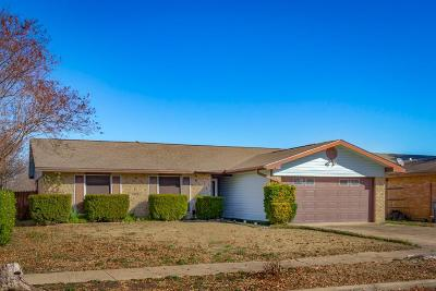 Garland Single Family Home For Sale: 1829 Angelina Drive