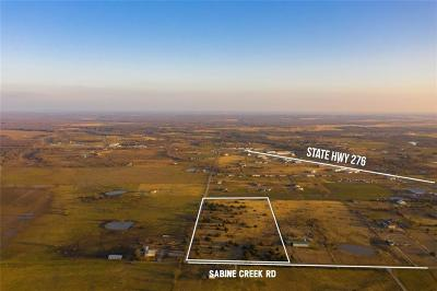 Rockwall, Royse City, Fate, Heath, Mclendon Chisholm Residential Lots & Land For Sale: 673 Sabine Creek Road