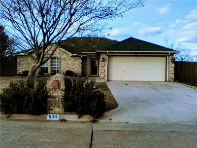 Aledo Single Family Home For Sale: 609 Rolling Hills Drive