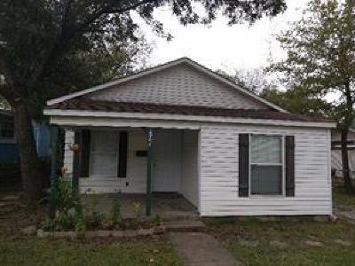 Fort Worth Single Family Home For Sale: 2904 Wilkinson Avenue