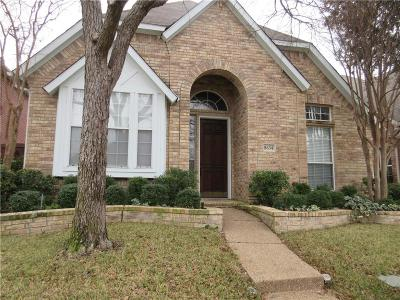 Irving Residential Lease For Lease: 8634 Forest Glen Drive