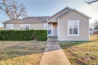 Sherman Single Family Home For Sale: 1414 E Houston Street