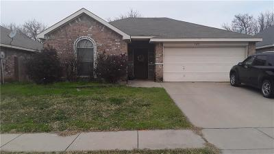 Fort Worth TX Single Family Home For Sale: $145,000