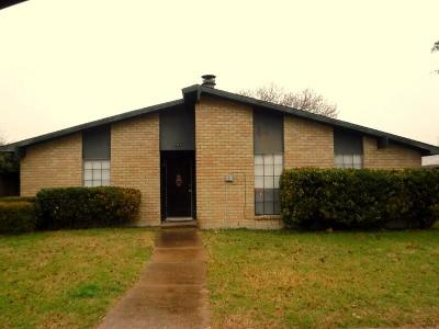 Dallas, Fort Worth Single Family Home For Sale: 7231 Hedge Drive