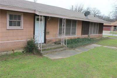 Dallas, Fort Worth Single Family Home For Sale: 4600 Panola Avenue