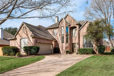 Grapevine Single Family Home Active Option Contract: 2703 Pin Oak Drive