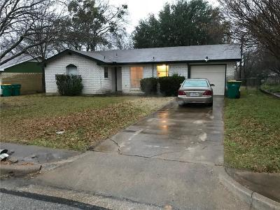 Cedar Hill Single Family Home For Sale: 1220 Mars Drive