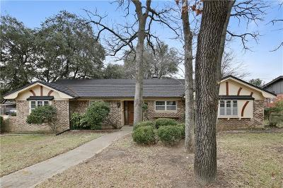Fort Worth Single Family Home For Sale: 7448 Monterrey Drive