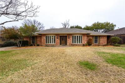 Carrollton Single Family Home For Sale: 2709 S Surrey Drive