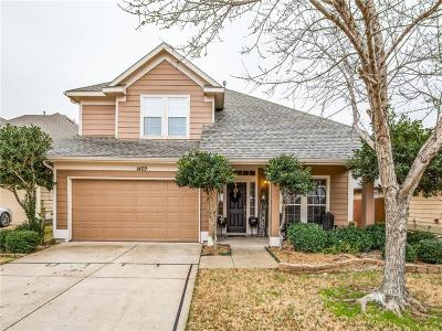McKinney Single Family Home For Sale: 1409 Lacewing Drive