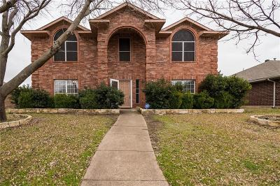 Allen TX Single Family Home For Sale: $320,000