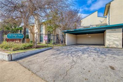 Dallas County Townhouse For Sale: 7135 Fair Oaks Avenue #16