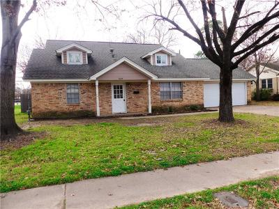 Irving Residential Lease For Lease: 1027 Mitchell Road