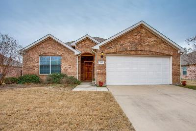 Royse City, Union Valley Single Family Home Active Option Contract: 209 Ame Lane