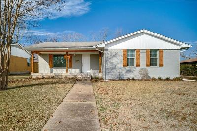 Garland Single Family Home For Sale: 3221 Ranch Drive