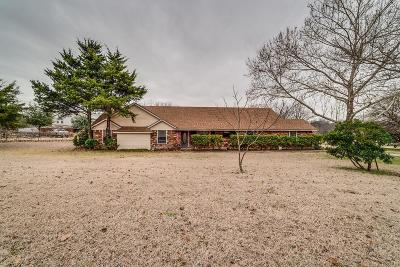Waxahachie Single Family Home Active Option Contract: 300 Bells Chapel Road